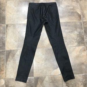 Diane Von Furstenberg Pants - Diane Von Furstenberg Leather Legging Pants 4
